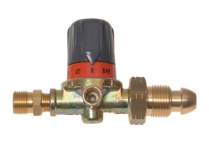 0.5-4 bar Adjustable HP LPG Regulator 3/8 BSP