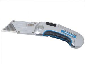 Pro Folding Pocket Utility Knife + 6 Blades