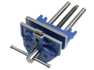 52PD Plain Screw Woodworking Vice 175mm (7in) & Front Dog