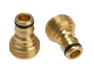 Brass Male Connector 19mm (3/4in)