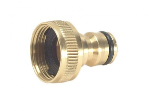 Brass Tap Connector 19mm (3/4in)