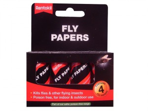 Flypapers Pack of 4
