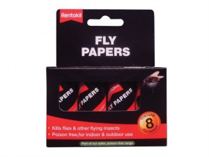 Flypapers Pack of 8
