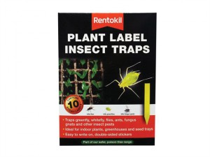 Plant Label Insect Traps Pack of 10