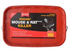 Rodine Mouse & Rat Killer 25 x 50g