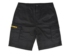 Black Cargo Work Shorts Waist 32in