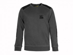 Grey Crewneck Sweatshirt - M (39-41in)