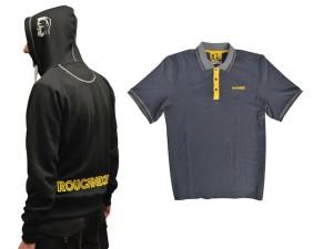 Zipped Hoody Plus Cotton Polo Shirt - L (42-44in)