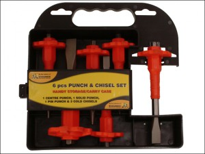 Punch & Chisel Set 6 Piece