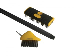 Patio & Decking Brush Set 3 Piece