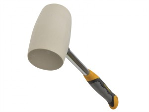 Non Marking White Rubber Mallet 680g (24oz)