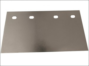 Stainless Steel Floor Scraper Blade 200mm (8in)