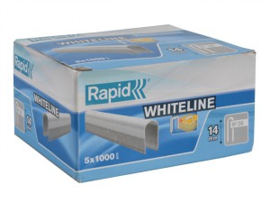 36/14 14mm DP x 5m White Staples Box 5 x 1000