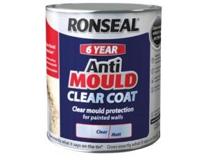 6 Year Anti Mould Clear Coat Matt 2.5 litre