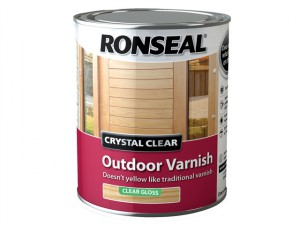 Crystal Clear Outdoor Varnish Matt 2.5 litre