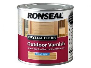 Crystal Clear Outdoor Varnish Satin 250ml