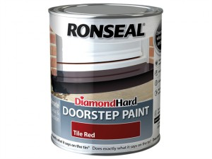 Diamond Hard Doorstep Paint Tile Red 750ml