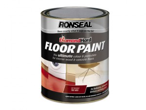 Diamond Hard Floor Paint Tile Red 5 Litre