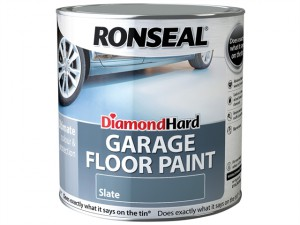 Diamond Hard Garage Floor Paint Slate 2.5 Litre