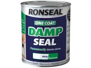 One Coat Damp Seal White 750ml