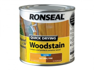 Woodstain Quick Dry Satin Natural Pine 250ml