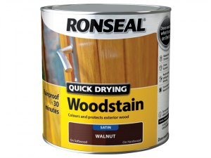 Quick Drying Woodstain Satin Antique Pine 2.5 Litre