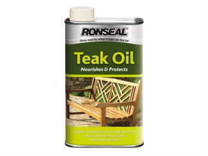 Garden Furniture Teak Oil Can 1 Litre