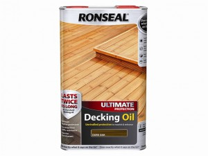 Ultimate Protection Decking Oil Dark Oak 5 Litre