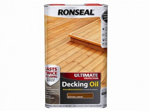 Ultimate Protection Decking Oil Natural Cedar 5 Litre