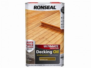 Ultimate Protection Decking Oil Natural Oak 5 Litre