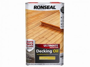 Ultimate Protection Decking Oil Natural Pine 5 Litre