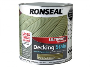 Ultimate Protection Decking Stain Mountain Green 2.5 Litre