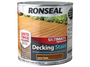 Ultimate Protection Decking Stain Teak 2.5 Litre