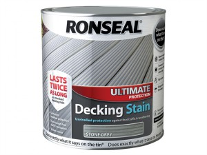 Ultimate Protection Decking Stain Stone Grey 2.5 Litre