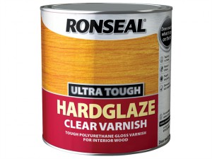 Ultra Tough Hardglaze Internal Clear Gloss Varnish 2.5 Litre