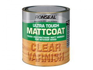 Ultra Tough Internal Clear Mattcoat Varnish 2.5 Litre