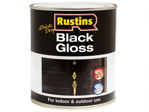 Gloss Paint Water Based Black 250ml