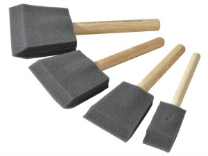 Foam Brush Set (1,2,3 & 4in)