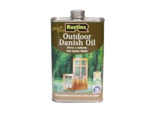 Quick Dry Outdoor Danish Oil 1 Litre