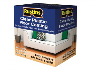 Clear Plastic Floor Coating Kit Satin 4 Litre