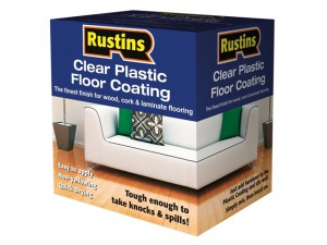Clear Plastic Floor Coating Kit Gloss 4 Litre