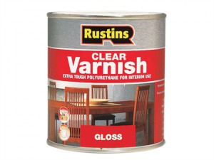 Polyurethane Varnish Gloss Clear 500ml