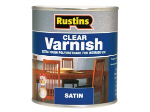 Polyurethane Varnish Satin Clear 500ml