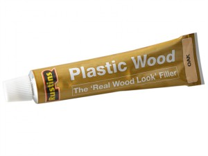 Plastic Wood Tube Oak 20g