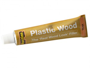 Plastic Wood Tube Teak 20g