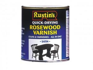 Quick Dry Varnish Satin Antique Pine 250ml