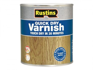 Quick Dry Varnish Satin Clear 2.5 Litre