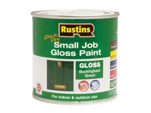 Quick Dry Small Job Gloss Paint Buckingham Green 250ml