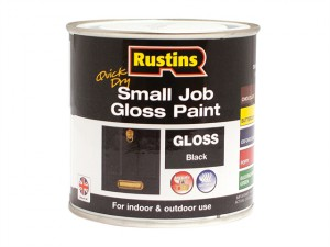 Quick Dry Small Job Gloss Paint Black 250ml
