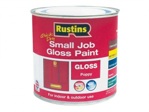 Quick Dry Small Job Gloss Paint Poppy 250ml